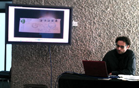 Theodore Ushev, Masterclass, Arthur Lipsett, Lipsett Diaries, LIAF, London International Animation Festival
