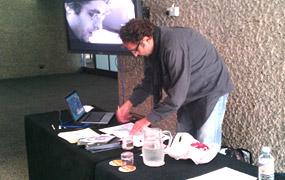 Theodore Ushev, Lipsett Diaries, Arthur Lipsett, LIAF, Masterclass, London International Animation Festival