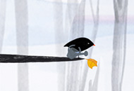 The Little Bird and the Leaf, Lena von Dohren, LIAF, London International Animation Festival, 2012