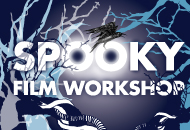 Make a Spooky Film Workshop, LIAF, London International Animation Festival, 2012
