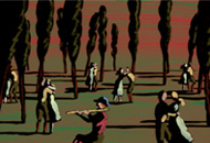 Along The Way, Chemin Faisant, Georges Schwizgebel, LIAF, London International Animation Festival
