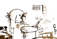 Coffee, Koffie, Sjaak Rood, LIAF, London International Animation Festival