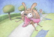 Guard Dog, Bill Plympton, LIAF, London International Animation Festival