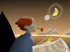 Moon Man, Paul Morstad, LIAF, London International Animation Festival, NFB