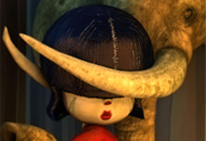 Elephant Girl, David Lobser, LIAF, London International Animation Festival, Animation Spot