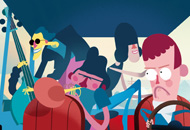 Jazz That Nobody Asked For, Esben Fisker, Rune Fisker, LIAF, London International Animation Festival