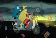 Storm Hits Jacket, Paul Cabon, LIAF, London International Animation Festival
