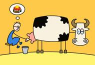 Tom & Luisa the Cow, Andreas Hykade, LIAF, London International Animation Festival