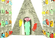 Allegory of Mrs. Triangle, Noriko Okaku, LIAF, London International Animation Festival