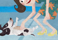My Little Dog Maestro - The Trouble With Cats, Maria MacDalland, LIAF, London International Animation Festival