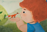 The Teeny Weeny Fox, Aline Quertain, Sylwia Szkiladz, LIAF, London International Animation Festival
