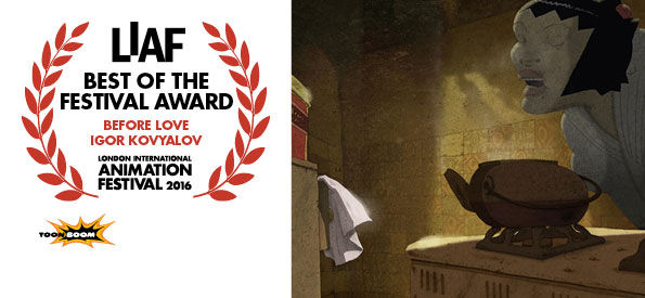 LIAF, London International Animation Festival, 2016, Best of the Festival Award