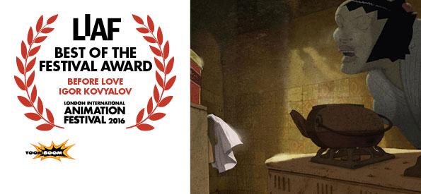 LIAF, London International Animation Festival, 2016, Best of the Festival Award