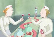 Birth, Signe Baumane, LIAF, London International Animation Festival