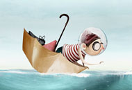 Jonas and the Sea, Marlies van der Wel, LIAF, London International Animation Festival