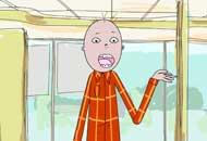Spinny Headed Guy, Nigel Clark, LIAF, London International Animation Festival