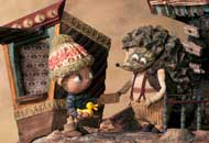 The Kid and the Hedgehog, Marc Riba, Anna Solanas, LIAF, London International Animation Festival