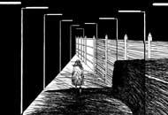 The Walker, Thibault Chollet, LIAF, London International Animation Festival
