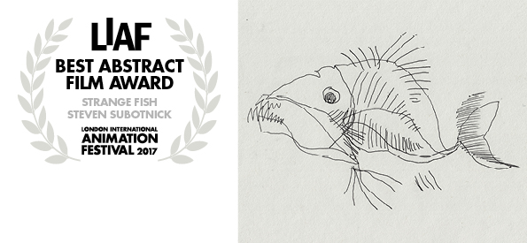 Best Abstract Film Award LIAF 2017, Strange Fish, Steven Subtonic, LIAF, London International Animation Festival