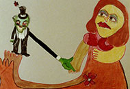 LIAF, London International Animation Festival, Green Men, Yellow Woman, Thalma Goldman Cohen