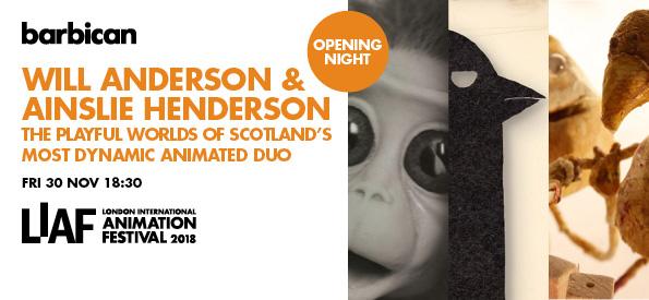 LIAF, London International Animation Festival, Will Anderson, Ainslie Henderson