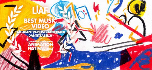 LIAF, London International Animation Festival, Tall Juan, Parking Attendant, Dante Zabella