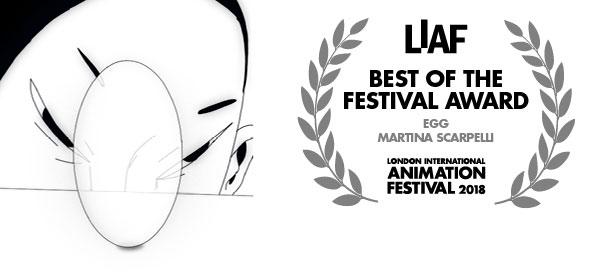 LIAF, London International Animation Festival, Egg, Martina Scarpelli
