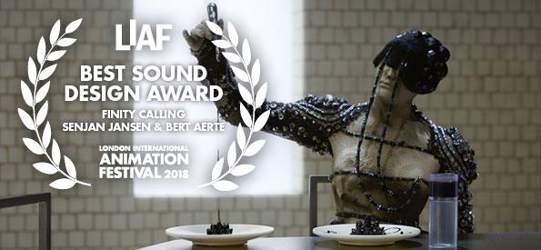 LIAF, London International Animation Festival, Finity Calling, Senjan Jansen, Bert Aerts, Jasper Kuipers