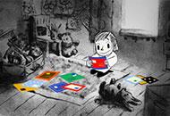 Dolls Letters, Natalia Gropfel, LIAF, London International Animation Festival