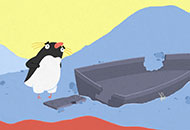The Penguin who couldn't Swim, Tom Rourke, LIAF, London International Animation Festival