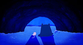 LIAF, London International Animation Festival, Lia Bertels, Dear Night, Sweet Night