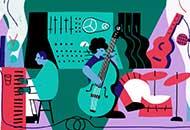 LIAF, London International Animation Festival, Music Unites: Herbie Hancock & Kamasi Washington in Conversation, Wednesday Studio