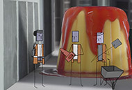A Film About a Pudding, Roel Van Beek, LIAF, London International Animation Festival
