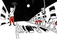 Face Recognition, Martinus Klemet, LIAF, London International Animation Festival