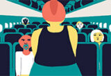 Flying While Fat, Stacy Bias, LIAF, London International Animation Festival