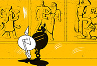 Guard of Honour, Edmunds Jansons, LIAF, London International Animation Festival