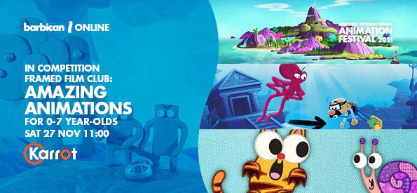 Framed Film Club, Amazing Animations for 0-7 Year-Olds, LIAF, London International Animation Festival